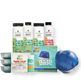 Mineral Harmony Spa Care Hot Tub Starter Kit Featuring