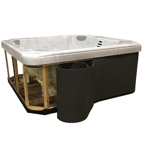 Kit Jacuzzi.Flexible Spa Panel Replacement Hot Tub Kit